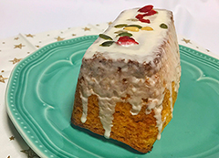 はちみつグレーズのパウンドケーキ