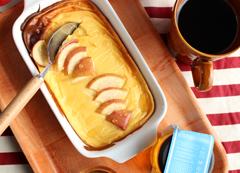 檸檬はちみつとヨーグルトの ベイクドケーキ