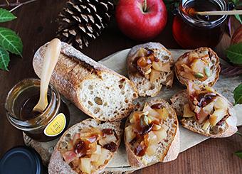 りんごのはちみつ煮