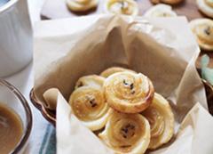 安納芋はちみつバターのひとくち渦巻きパイ